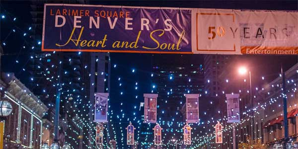 Denver senior singles at Larimer Square