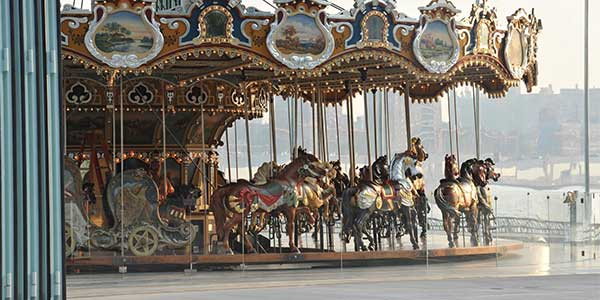 New York Christian singles date: Jane's Carousel