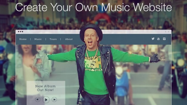 Wix Music Web Builder