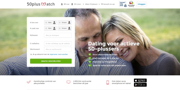 50plusmatch.nl datingsite