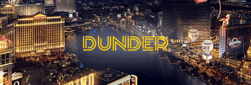 Play your favourite casino games at Dunder Casino