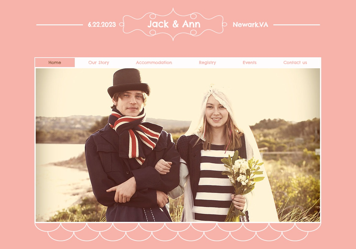 important tips & examples for creating a free wedding website