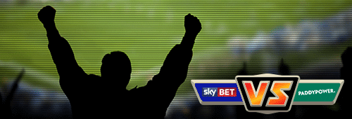 We declare Paddy Power the winner in a showdown with Sky Bet
