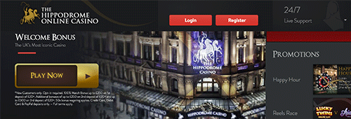 The Hippodrome Online Casino