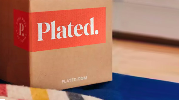 Plated meal package