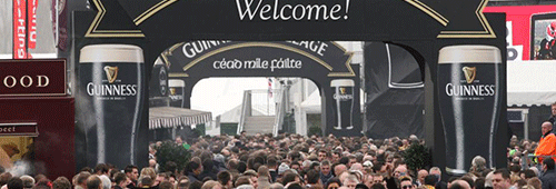 The Guinness Village at the Cheltenham Festival