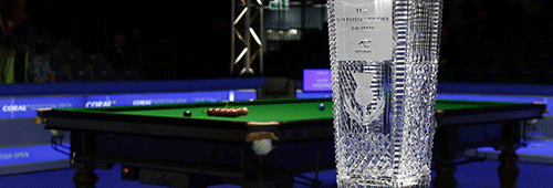 The Scottish Open trophy