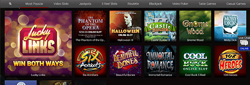 Lucky247 has a great selection of casino games