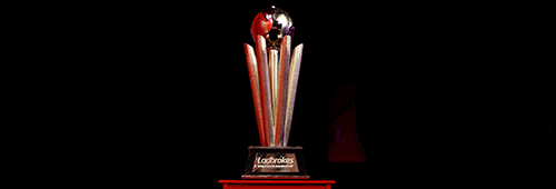 PDC World Darts Championship trophy