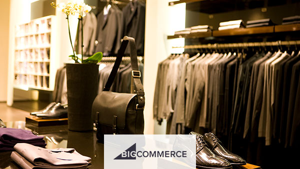 BigCommerce is best for apparel vendors