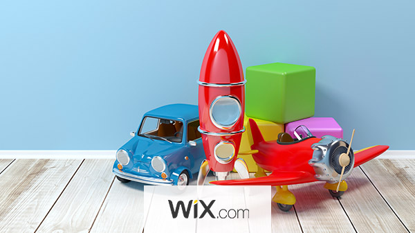Wix is best for toymakers