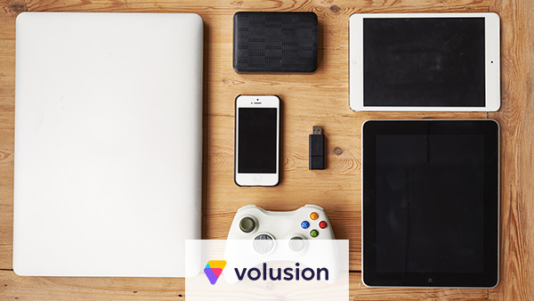 Volusion is best for electronics and gadgets