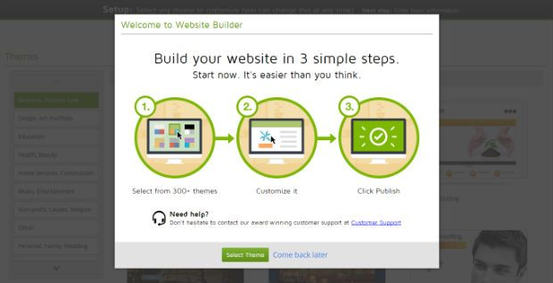 Build your website with GoDaddy website builder