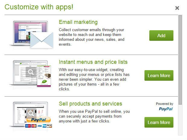 GoDaddy ecommerce apps