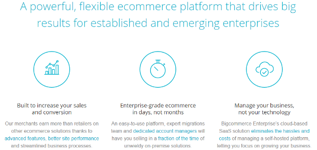 BigCommerce enterprise offering