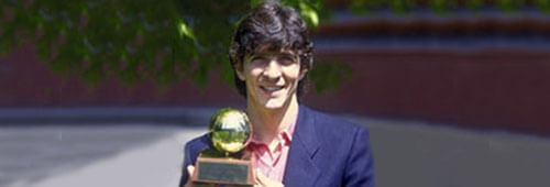 Paolo Rossi, the first official winner of the Golden Boot