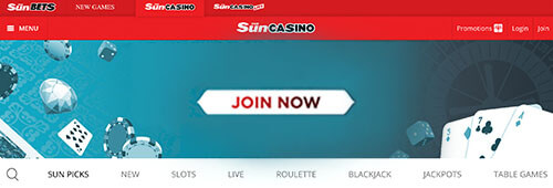 Check out The Sun's new Sun Casino