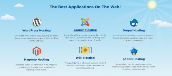 HostGator connects with the best apps on the web