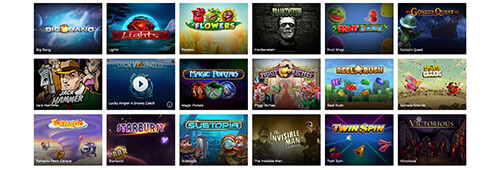 Mr Green has a great range of casino games