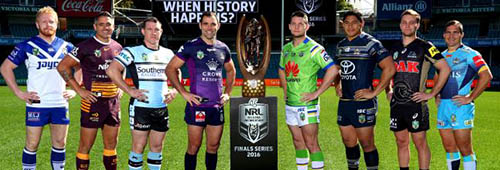The NRL Finals Series 2016 winners