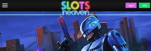 Feel like you're on cloud nine at Slots Heaven