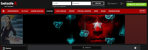 Start gaming at the established Betsafe Casino