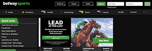 Betway is a great place to start your sports betting journey