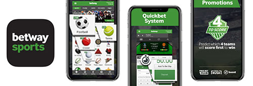 Enjoy Betway from your mobile device