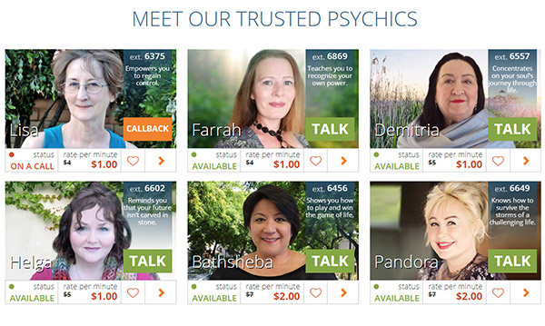 Meet California Psychics - Trusted Psychics