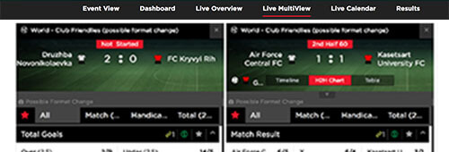 "Royal Panda offers a ""Live MultiView"" experience"