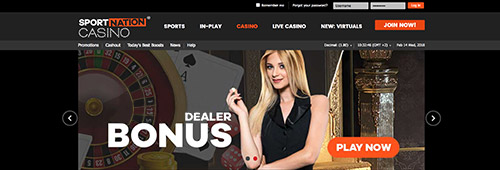 Explore SportNation's great online casino