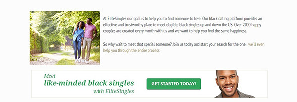 Find black singles on EliteSingles