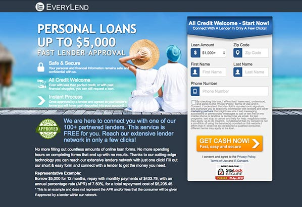 Quick and affordable loans