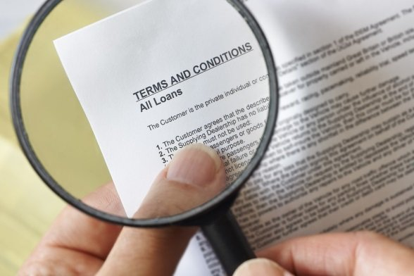 Look very closely at the Terms and Conditions of your loan