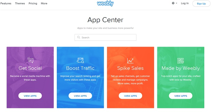 Comparing Weebly Apps