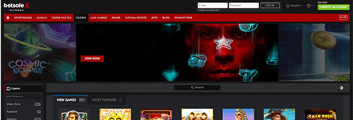 Betsafe also hosts an impressive online casino
