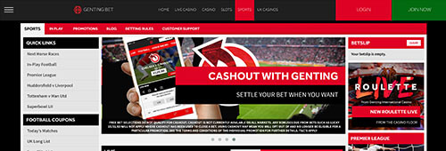 Genting Bet is a classy spot to bet on your favourite sport
