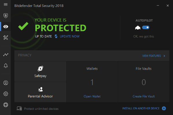 Protect your device with Bitdefender