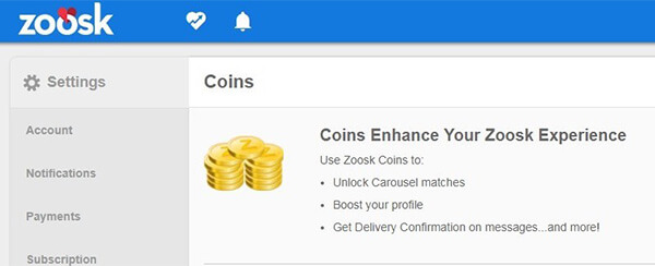 zoosk dating prices