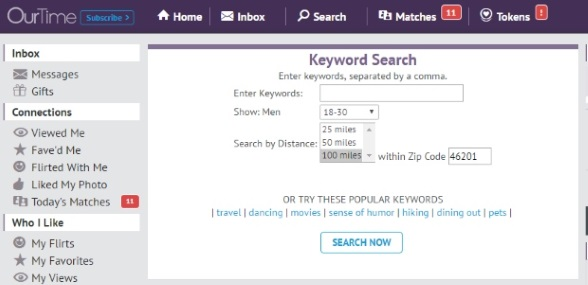 Search Features Keywords