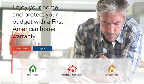 First American Home Warranty's Coverage