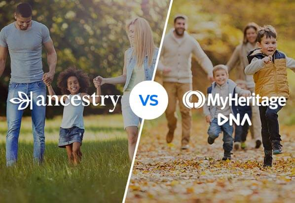 DNA battle: Ancestry vs MyHeritage