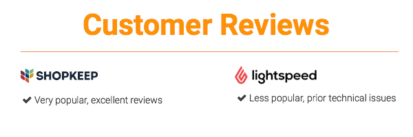 customer reviews shopkeep vs lightspeed
