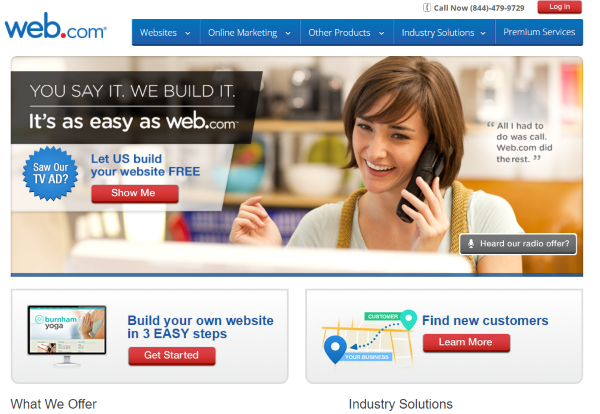 Comparing Web.com vs Weebly