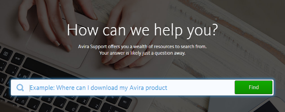 With Avira Phantom, help is always there when you need