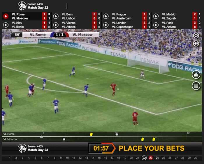 Try your hand at virtual betting at Betsafe