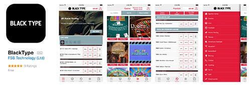 Black Type offers an iPhone-optimised app