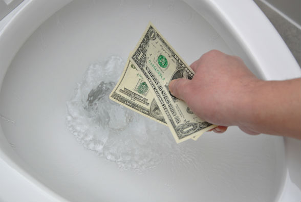 If don't install antivirus updates, you're flushing money down the toilet.