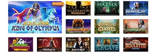 Enjoy an extensive range of games at Casino.com