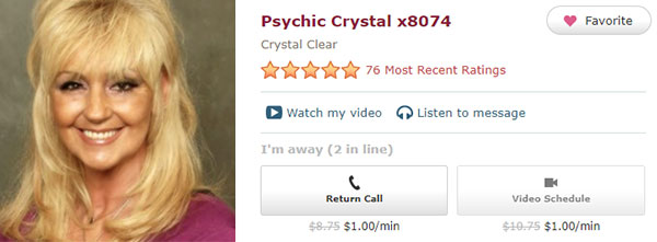 Crystal from Psychic Source - Best Pet Psychics